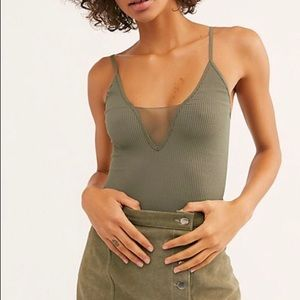 Free people olive cami